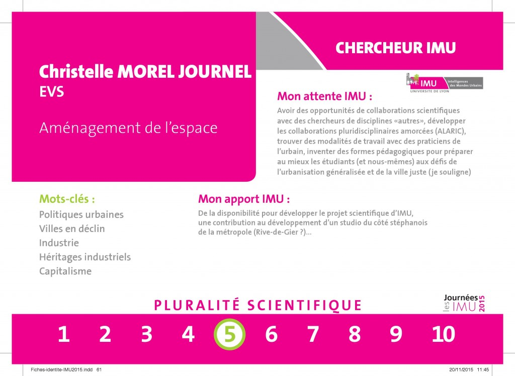 MOREL JOURNEL - EVS